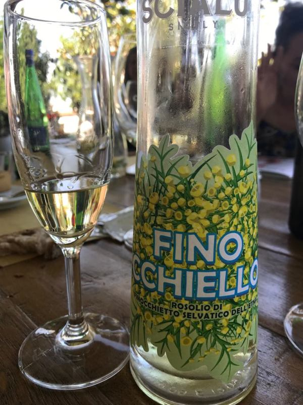 finocchiello liqueur from Sicily