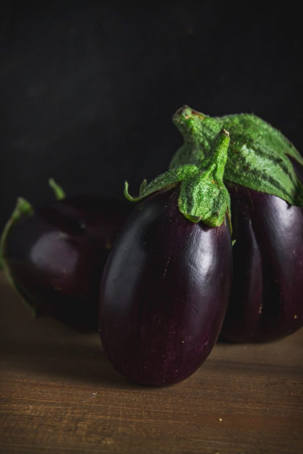 vegetables we shouldn't be peeling: eggplant