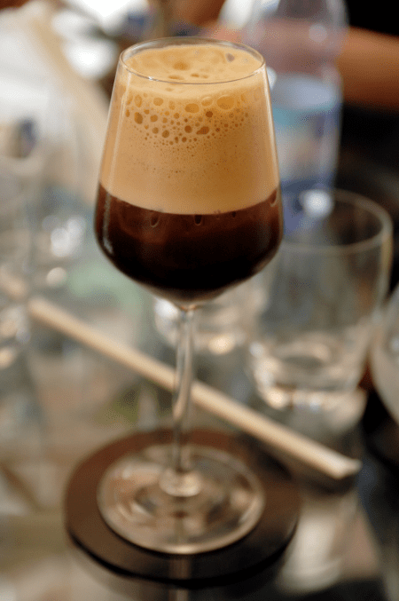 shakerato is one of many Italian iced coffee beverages