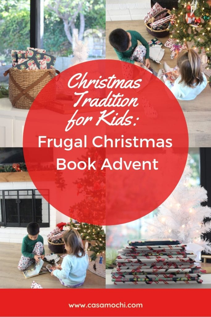 Christmas tradition for kids, book advent