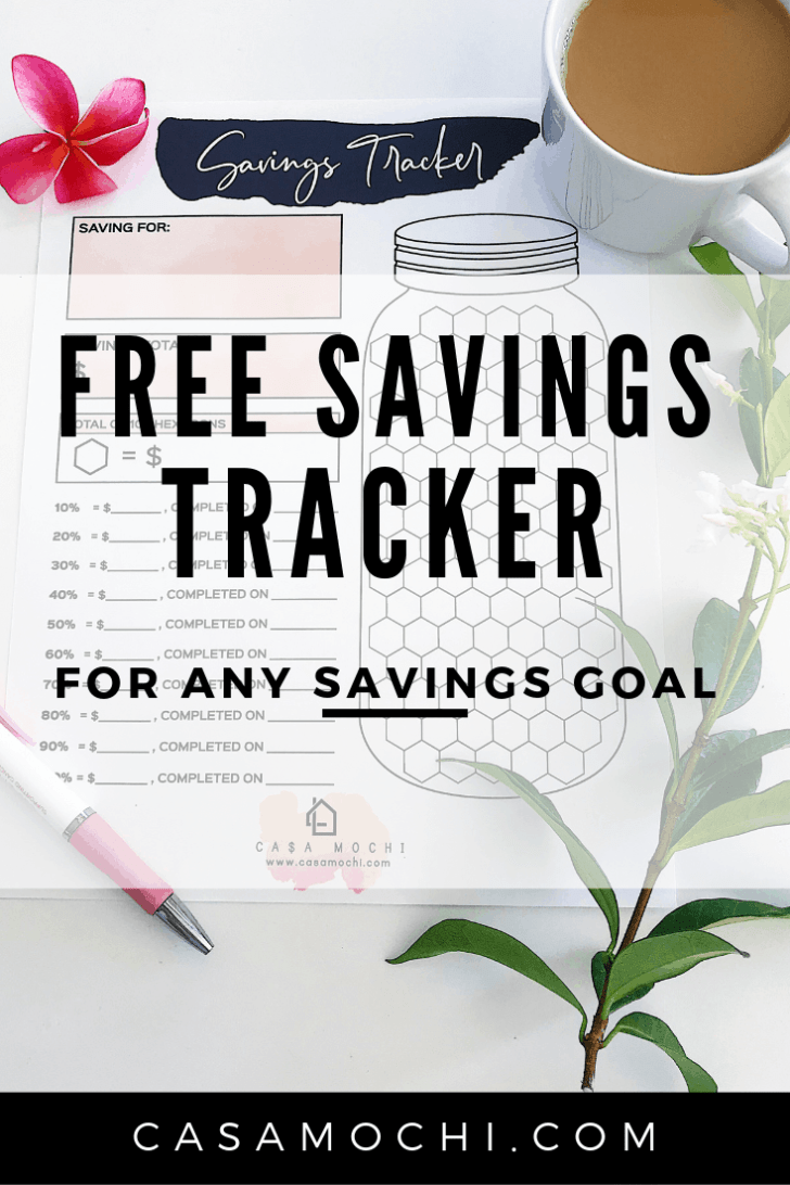 Best Free Savings Tracker for any Goal