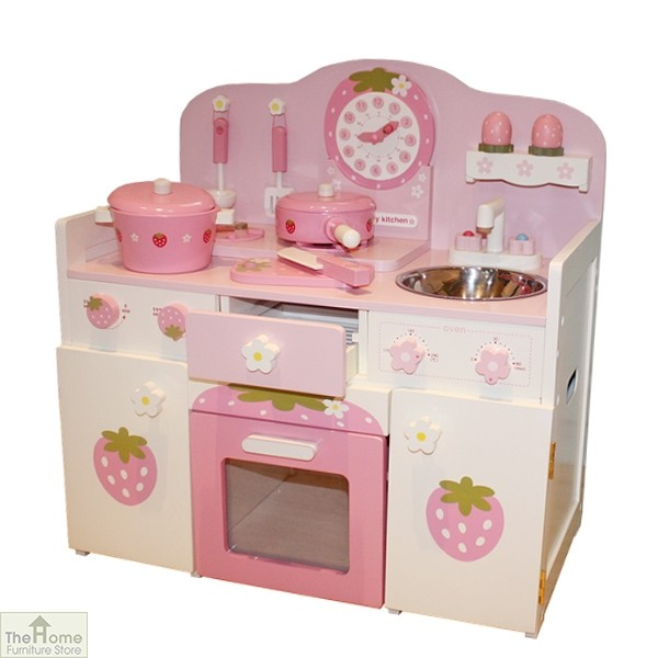 wooden toy kitchen stonewall com pink country the home furniture store