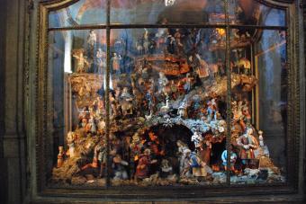 Basilica dos Mártires (kerststal)