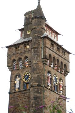 Cardiff Castle - Clock Towrer