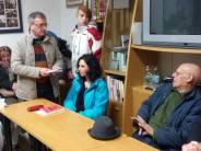 """Immagini della presentazione del libro sulla vita di Aroldo Colombini """"Bandito!"""""""