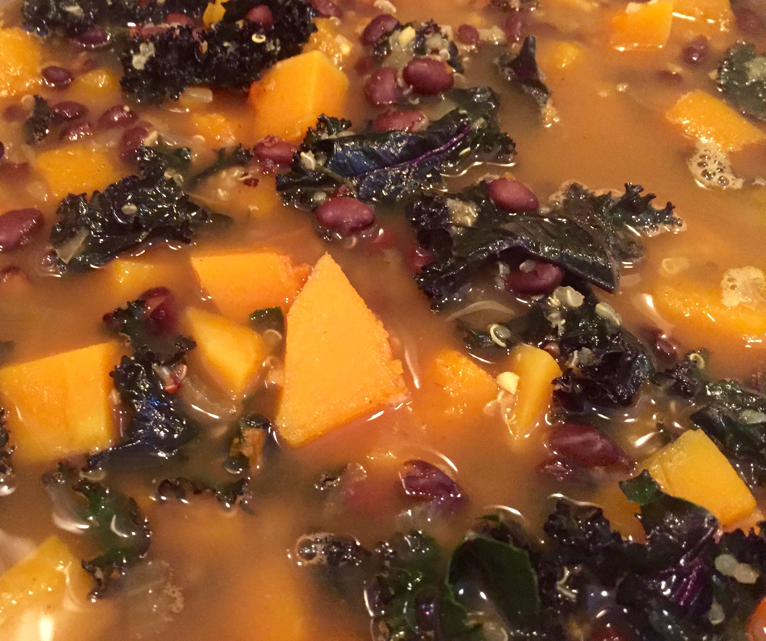 Black Bean and Butternut Squash Soup | Catskill Animal ...
