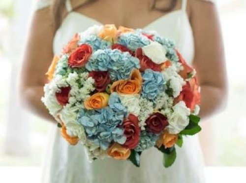 bouquet redondo IV