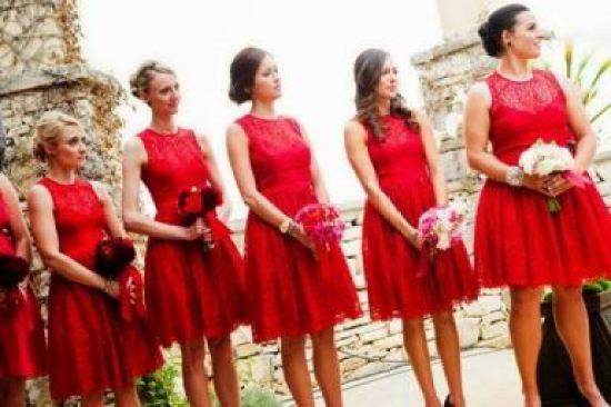 Vestidos curtos para madrinhas Casando sem Grana