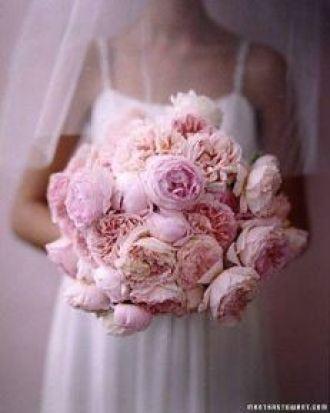 Buquês cor de rosa