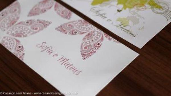 Modelos de convites de casamento da ConviteExpresso