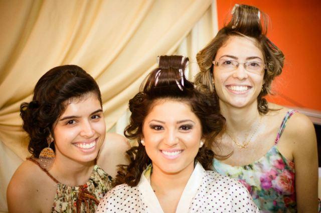Making of da noiva com as amigas