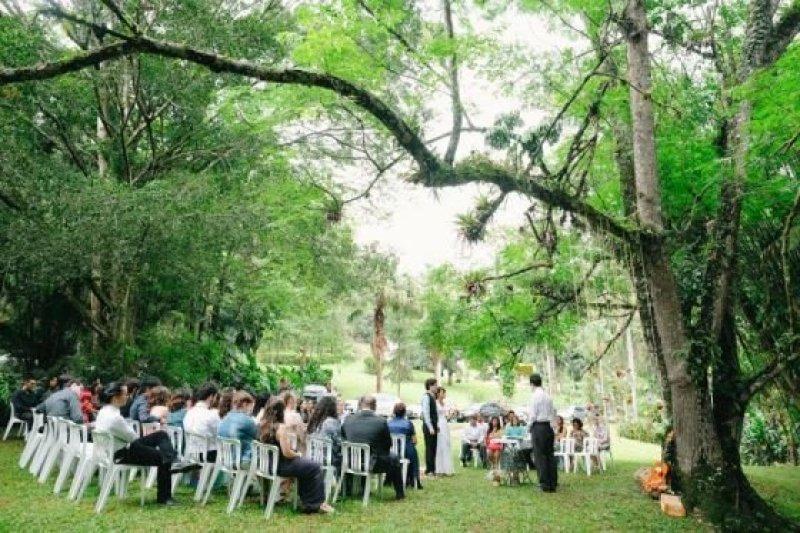 Relato real casamento Espirito Santo tsurus flores de papel DIY