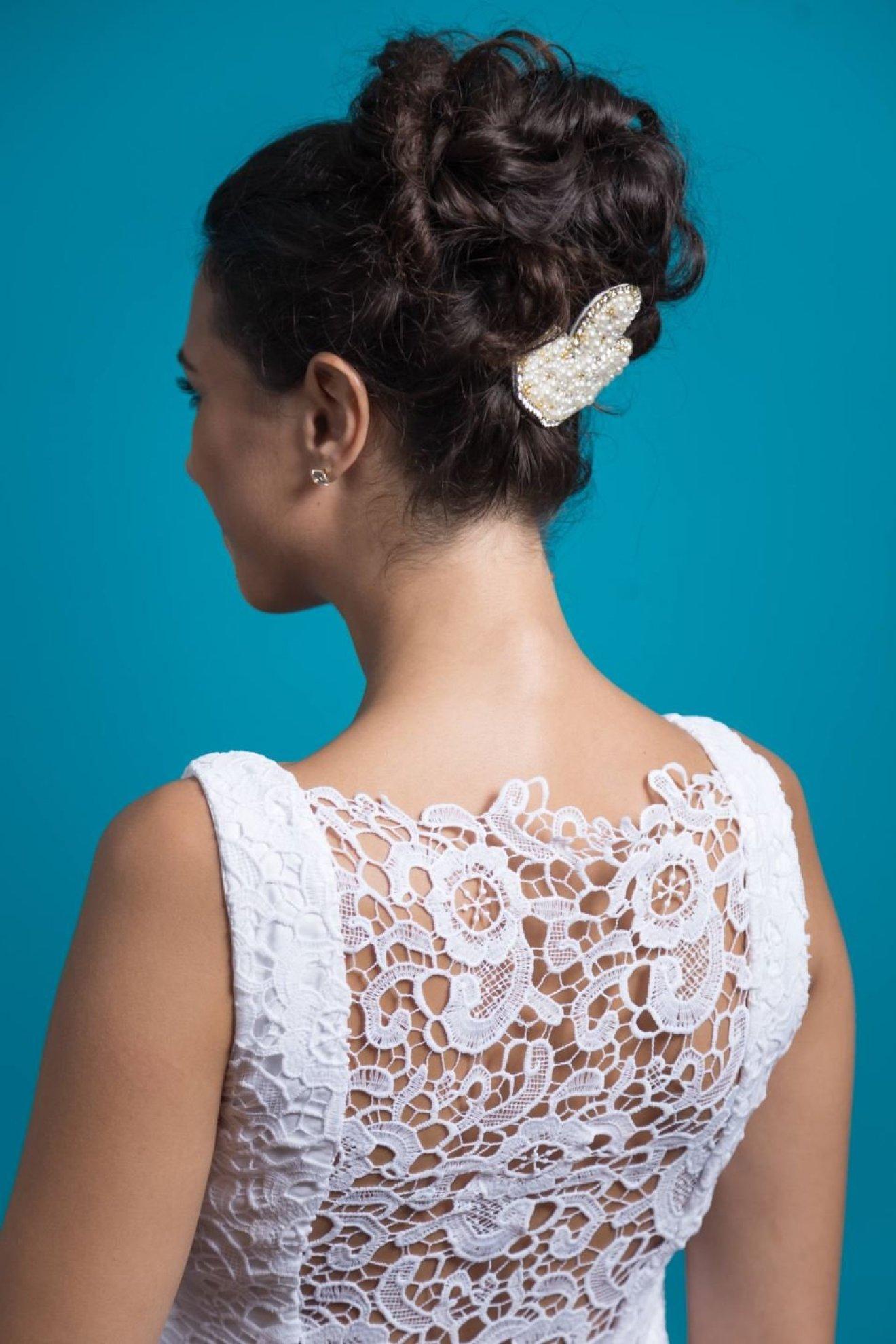 Como escolher o arranjo de cabelo para o casamento