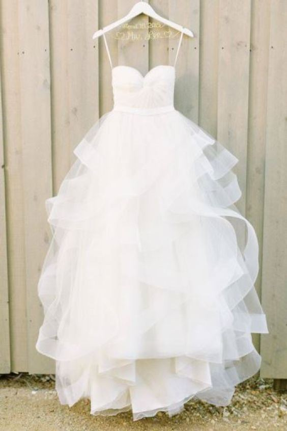 Tendência em Vestido de Noiva. Fonte: Style Me Pretty