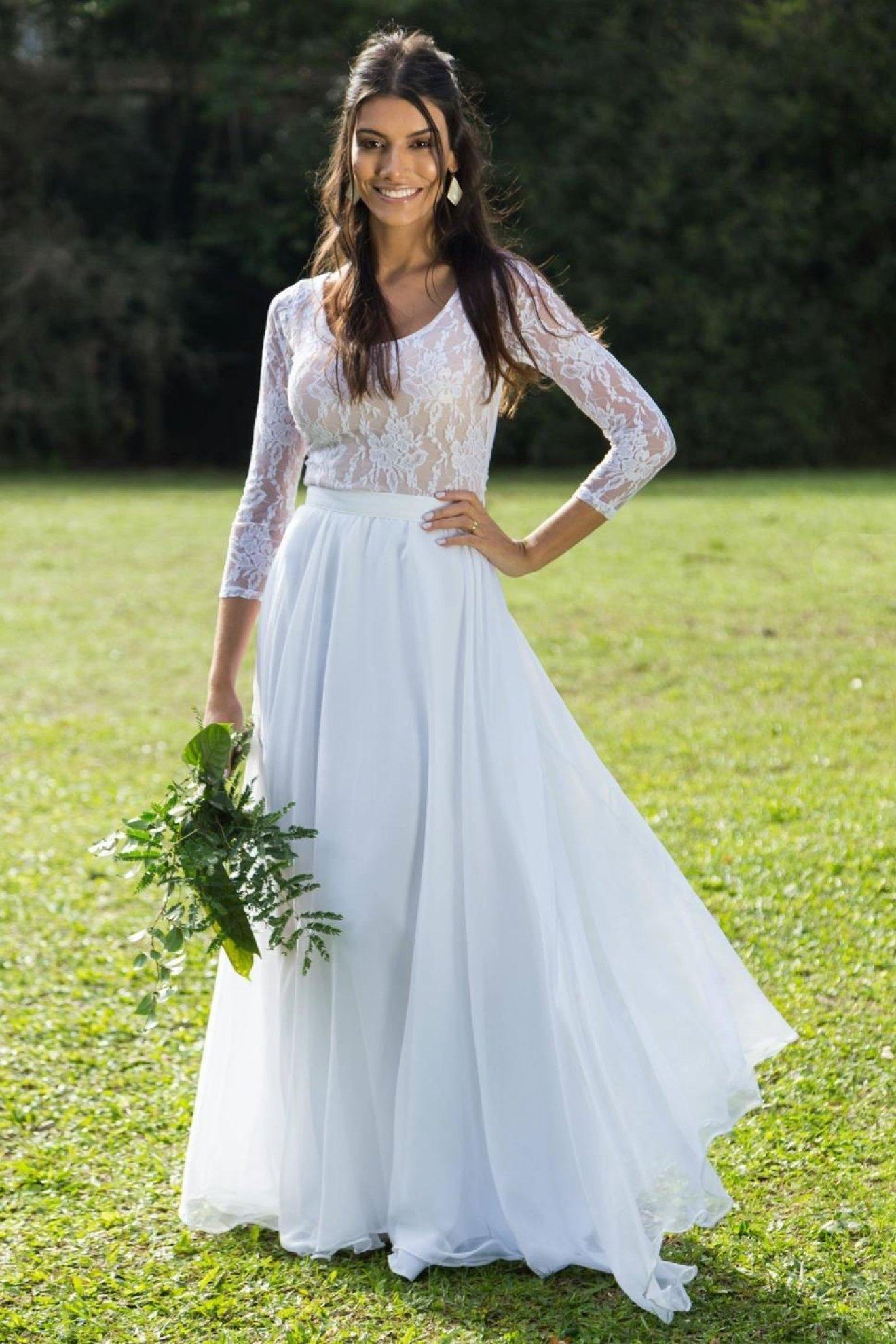 Vestido de Noiva O Amor é Simples
