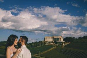 foto casamento manhã