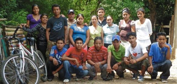 Etudiants Nica soutenus pas la Casa Nica en 2013