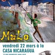 Concert de Malo à la CAsa Nicaragua