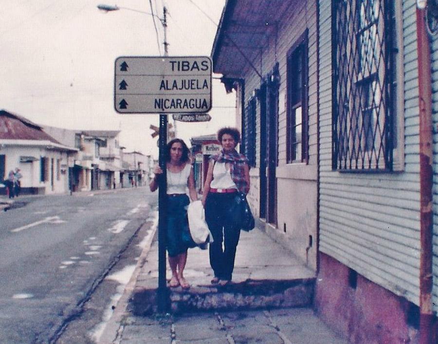 1982 - Ncaragua - Odette et Michèle