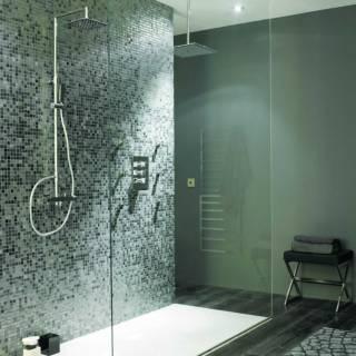 Un baño de mucho estilo