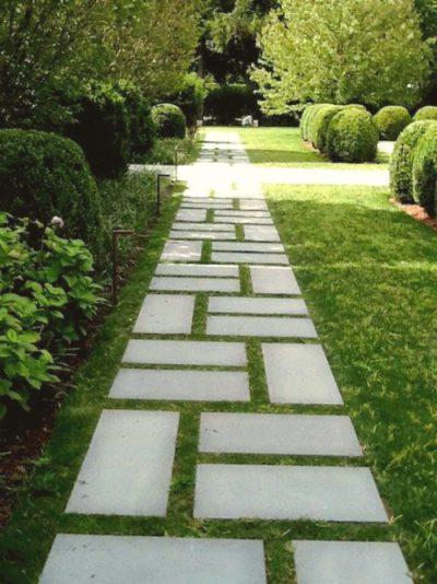 diseño de senderos de losa