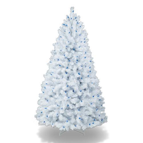 Coloridos rboles de navidad - Arbol de navidad blanco ...