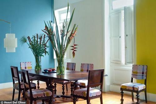 Baños Color Verde Limon:El azul llena de armonía tu hogar este 2014
