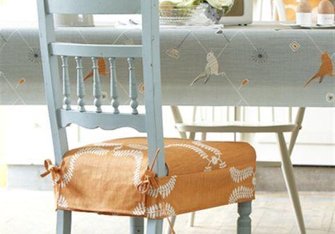 cómo decorar sillas