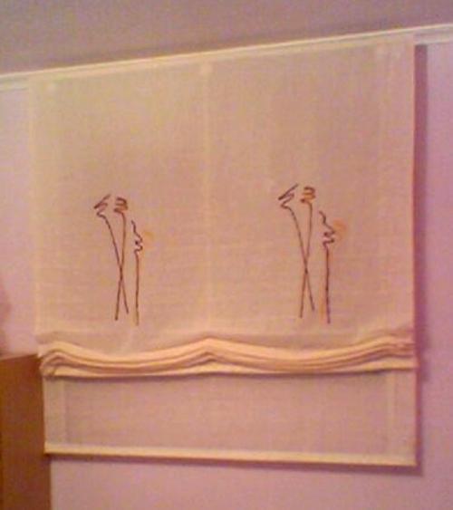 Vestir una ventana tipos de cortinas - Cortina con estor ...