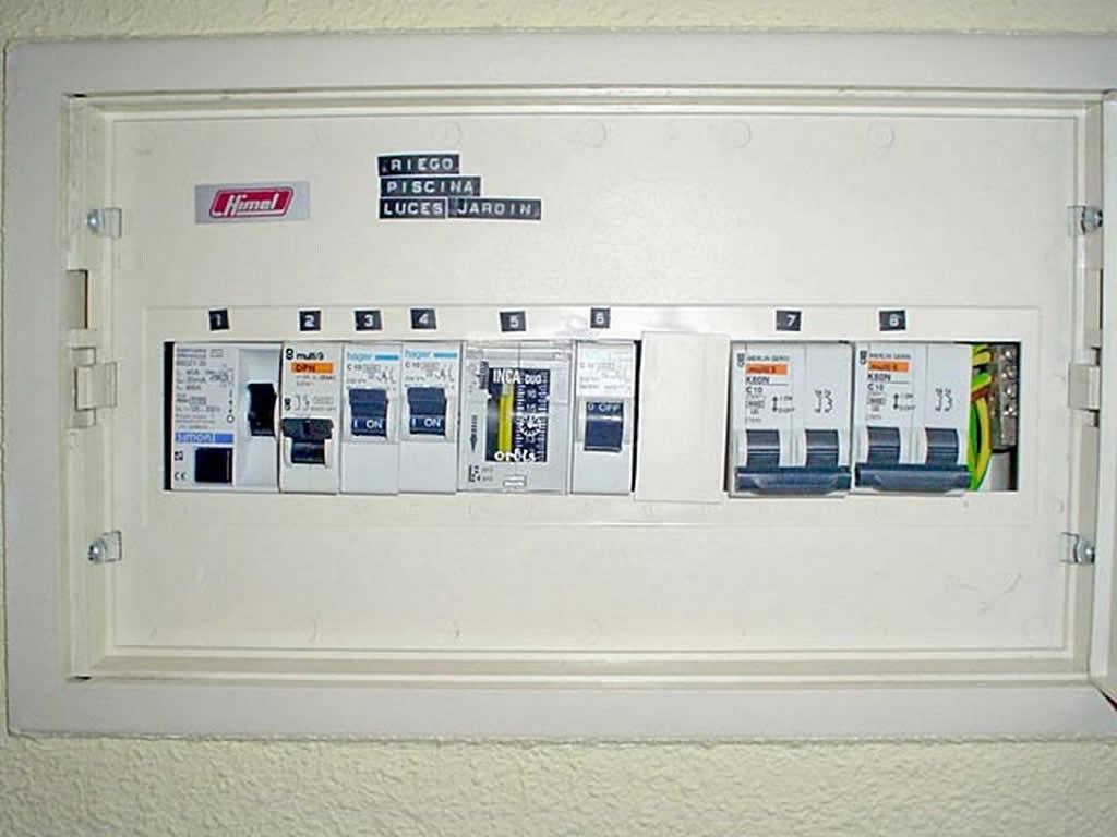 Manipular con seguridad la instalaci n el ctrica for Cuadro electrico de una vivienda