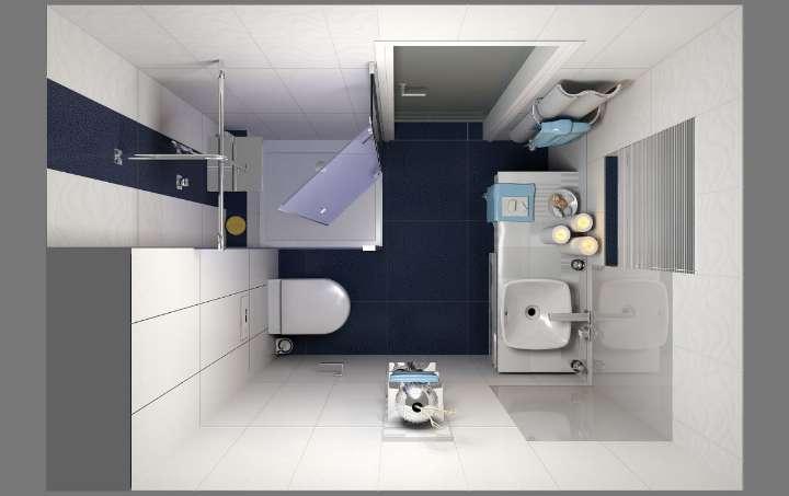 Muebles de baño modernos ideales para espacios pequeños