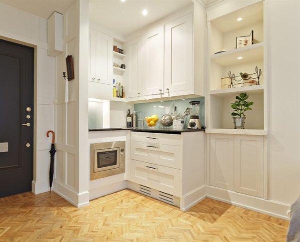 Trucos de decoraci n de cocinas peque as for Muebles para cocinas muy pequenas