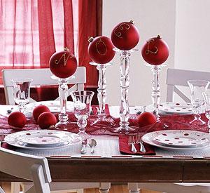 ideas para mesas navideñas