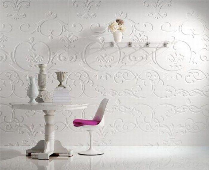 Decoraci n de paredes con paneles decorativos una moderna for Paneles acrilicos para paredes