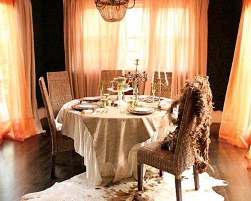 decoracion-romantica-original-comedor