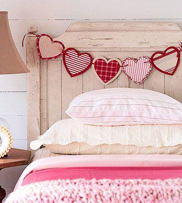 decoración San Valentín