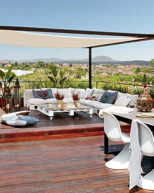 decorar jardines y terrazas
