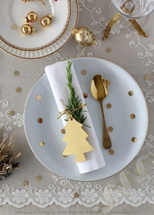 decoración de mesas en Nochevieja