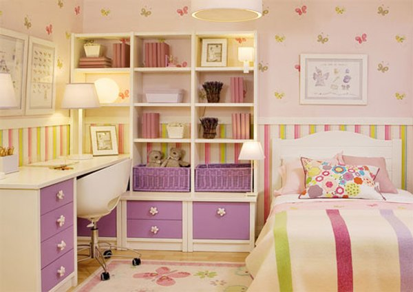 Dormitorios juveniles muebles modernos con color y estilo - Habitacion juvenil chica ...