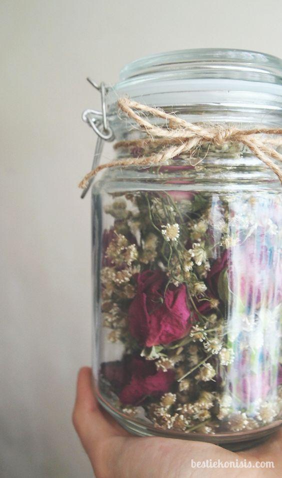 flores secas para decorar