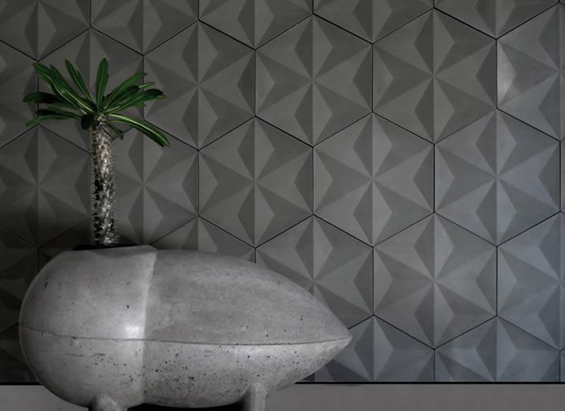 Baldosas de hormig n para exterior e interior for Baldosa ceramica interior