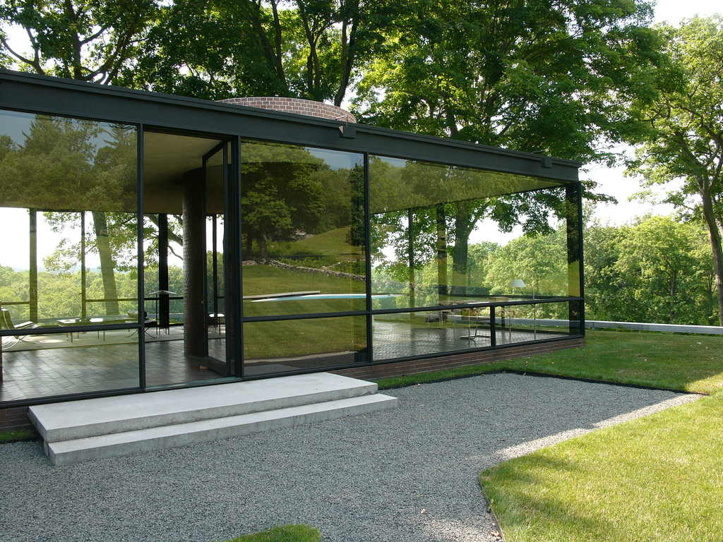 glass house philip jonhson
