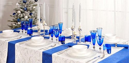 ideas para decorar la mesa en navidad y año nuevo