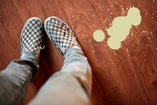 ideas para quitar manchas de pintura