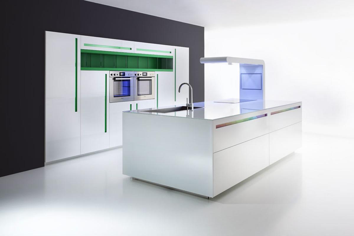 Cocinas de diseño limpio, modular y creativo