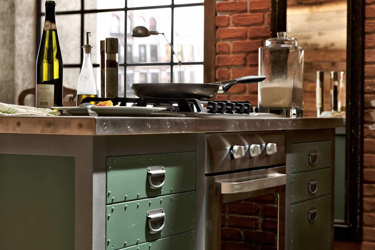 Mobiliario de cocina estilo vintage - Estilos de mobiliario ...