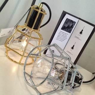 lámpara de estilo industrial