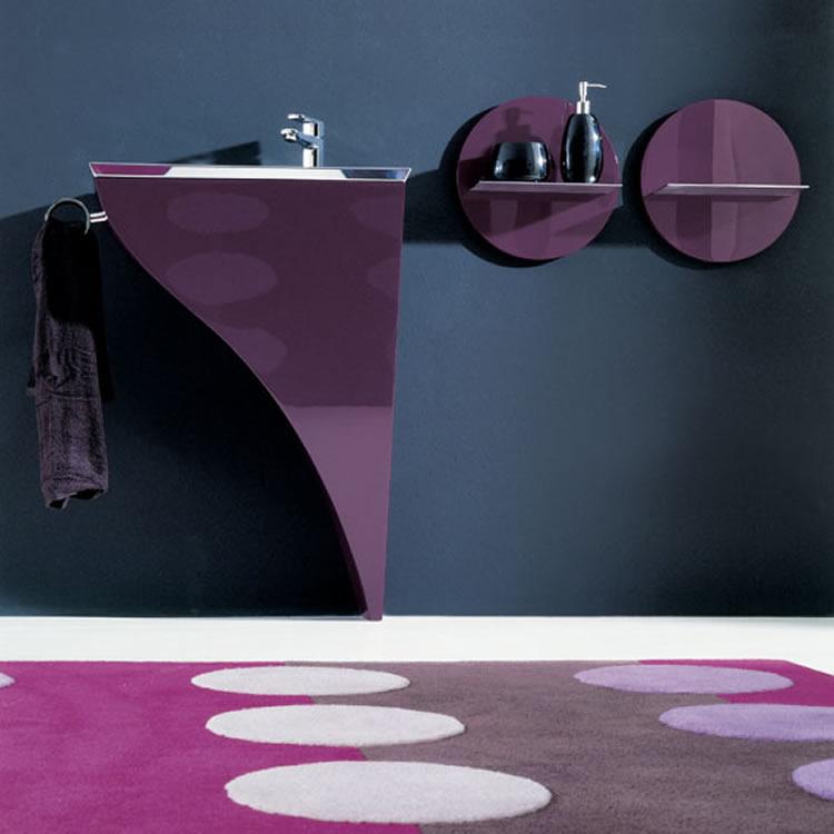 Moderno mobiliario para ba os peque os for Accesorios para lavabo