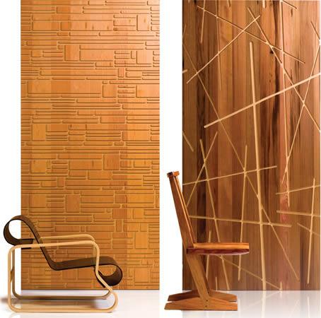 Revestimiento para paredes interiores en madera - Revestimiento de madera ...