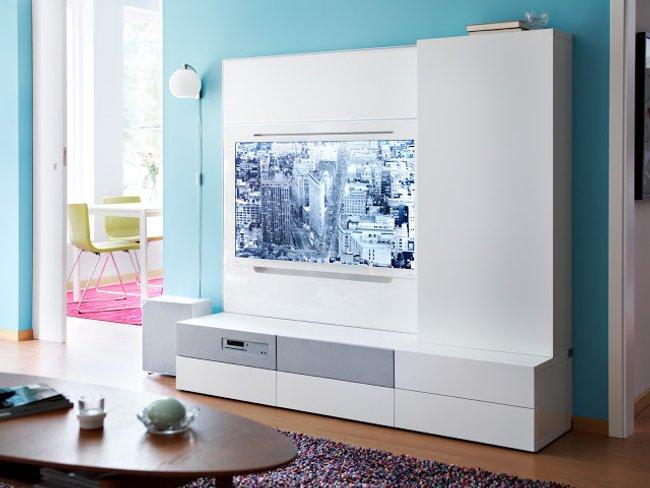 BestaUppleva de Ikea, TV, audio y mueble, todo en uno y sin